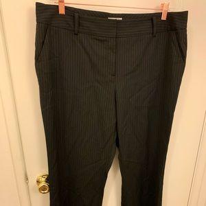 Halogen Taylor b/w pinstripe trousers size 16